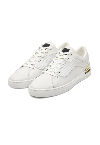 SCALE LOW TOP-WHITE/GOLD