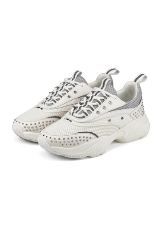 SCALE RUNNER-STUD-WHITE