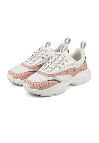 SCALE RUNNER-STUD-WHITE/PINK