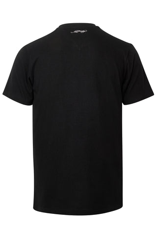 SKULL ROSE CAVIAR T SHIRT-BLACK - Image 2