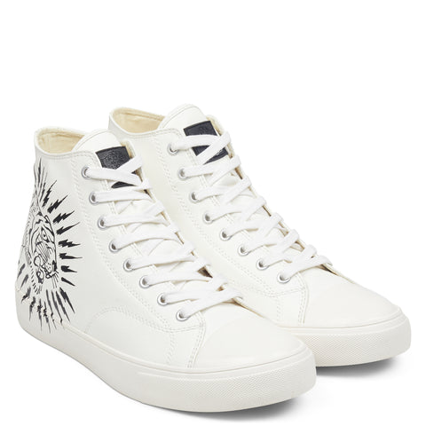 SPARK HIGH TOP-WHITE