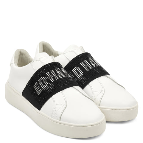 SPARKLE LOW TOP-WHITE/BLACK