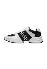SPLIT RUNNER-MONO - WHITE/BLACK
