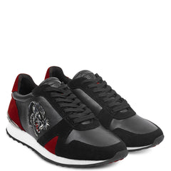 STEALTH RUNNER - BLACK/RED - Ed Hardy Official
