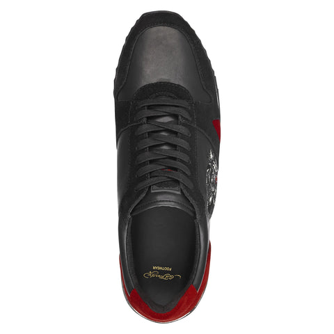 STEALTH RUNNER - BLACK/RED - Image 2