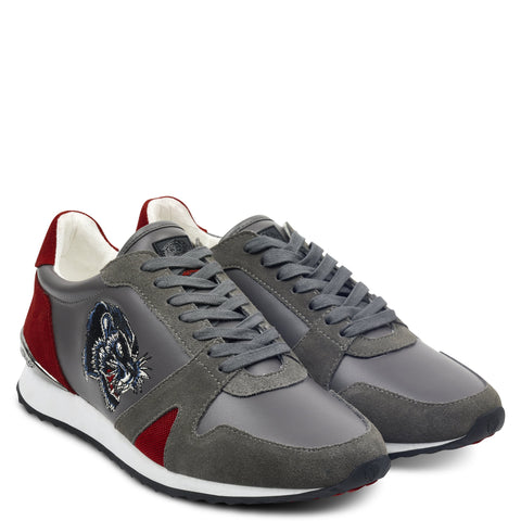 STEALTH RUNNER - GREY/RED