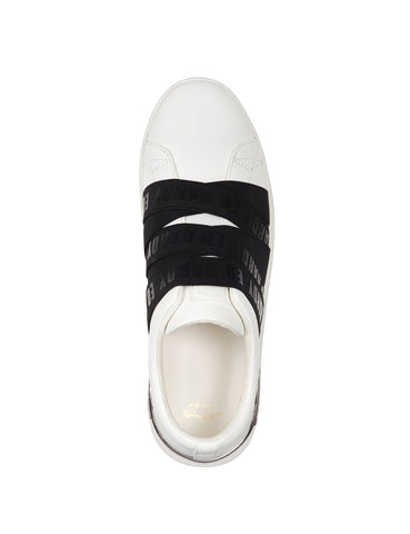 STRETCH LOW TOP-WHITE/BLACK - Image 2