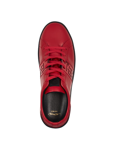 STRIPE LOW TOP-METALLIC-RED/BLACK - Image 2