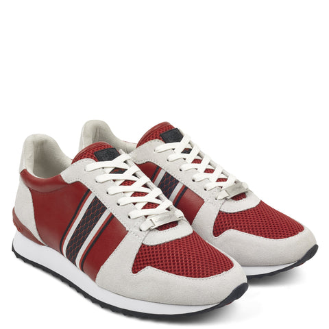 TAPE RUNNER-WHITE/RED