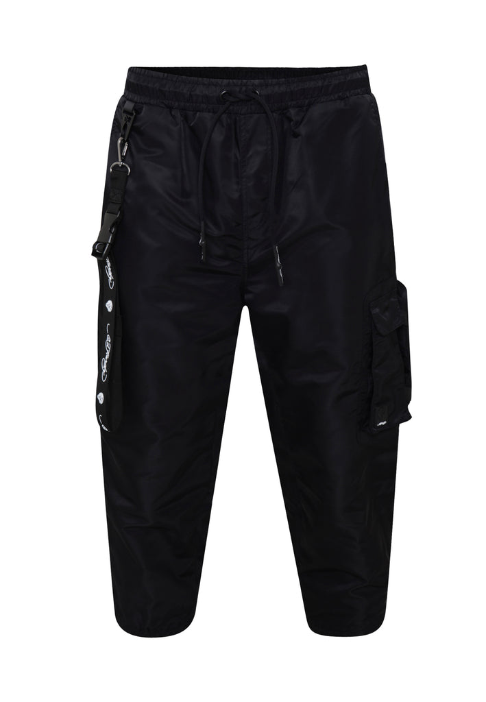 TIGER-BELLOWS PANT - BLACK - Ed Hardy Official