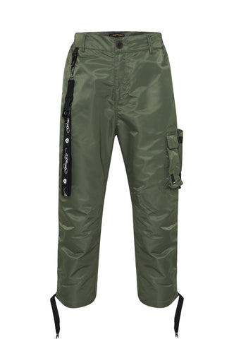 TIGER-BELLOWS PANT - KHAKI