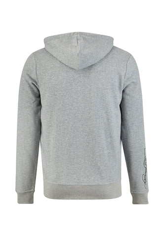 TIGER-LIGHTNING HOODY - GREY - Image 2