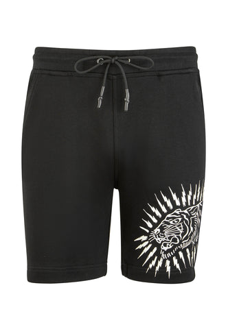 TIGER LIGHTNING SHORT - BLACK