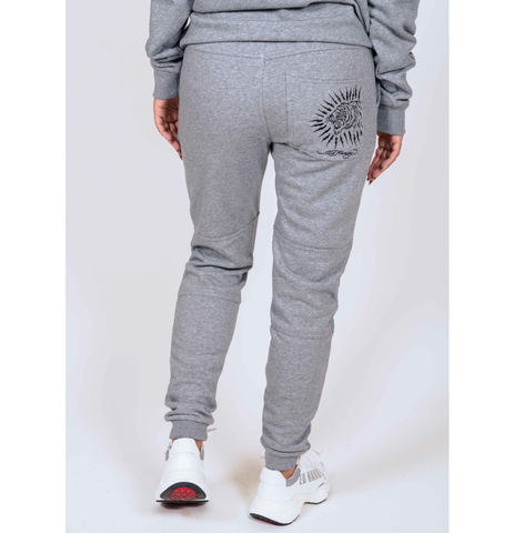TIGER-LIGHTNING JOGGER (WOMENS) - GREY - Image 2