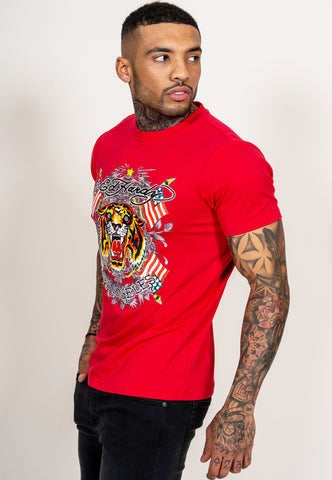 TIGER-LOS T-SHIRT - RED - Image 2
