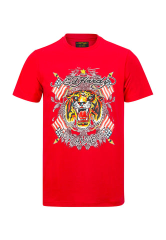 TIGER-LOS T-SHIRT - RED