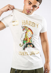 TIGER-MOUNTAIN T-SHIRT - WHITE