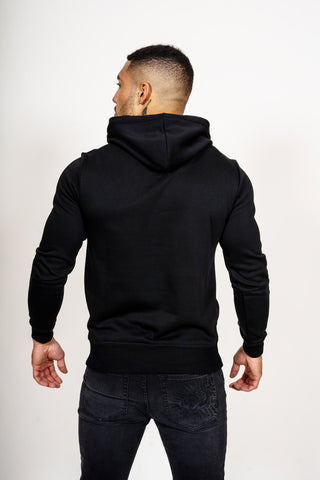 TIGER STRIPE HOODY - BLACK - Image 2