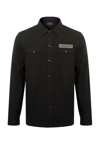 TIGER TOUR SUPPLUS SHIRT-WASHED BLACK