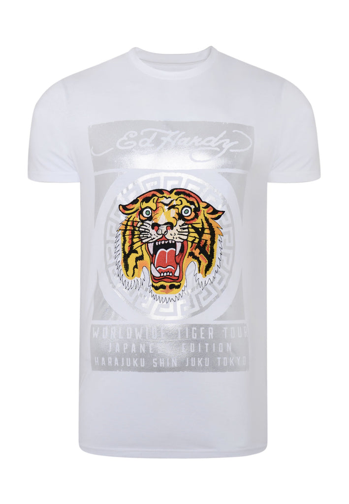 TILE-ROAR T-SHIRT - WHITE