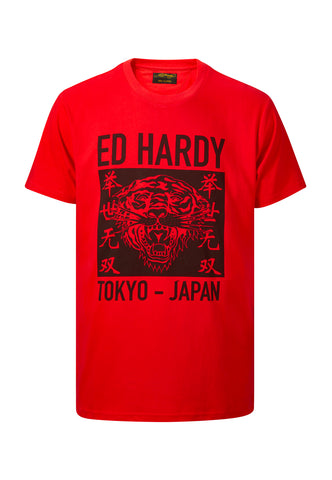TOKYO-ED T-SHIRT RED