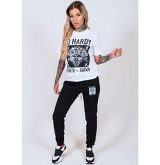 TOKYO-ED T-SHIRT (WOMENS) - WHITE - Ed Hardy Official