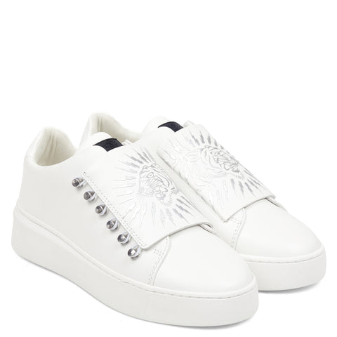 UNDERCOVER LOW TOP-SPARK-WHITE