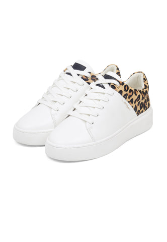 WILD LOW TOP-WHITE/LEOPARD