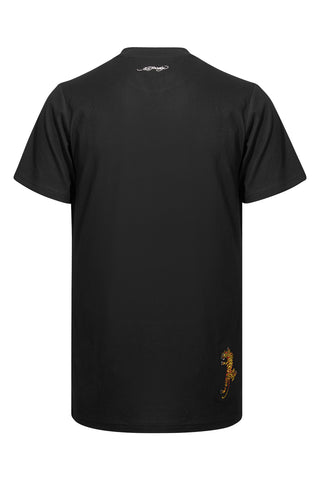 WORD TIGER T SHIRT-BLACK - Image 2