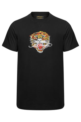 WORD TIGER T SHIRT-BLACK