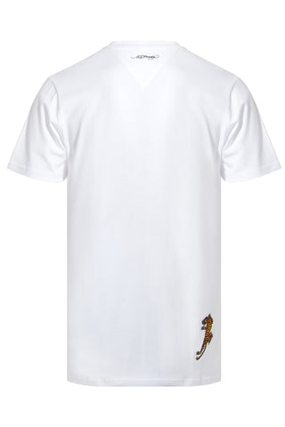WORD TIGER T SHIRT-WHITE - Image 2