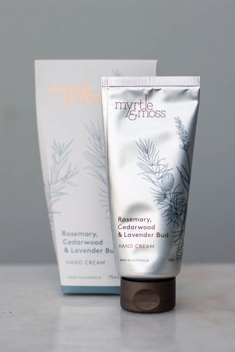Hand cream myrtle and moss