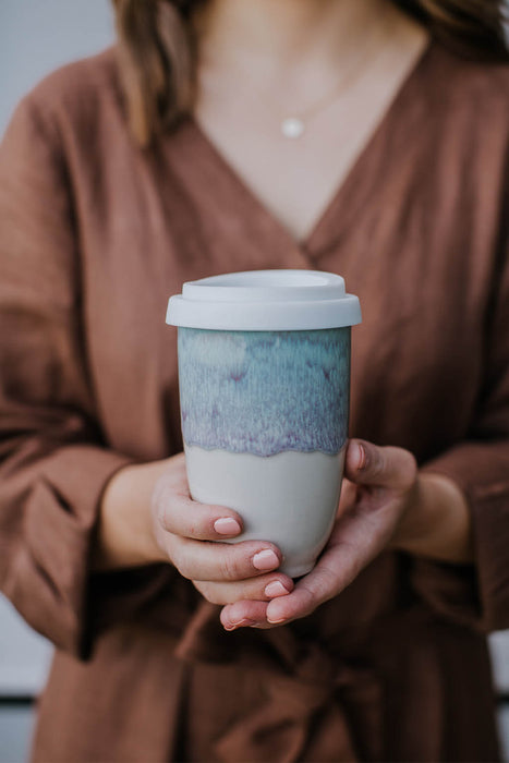 Travel Mug Pottery for the Planet