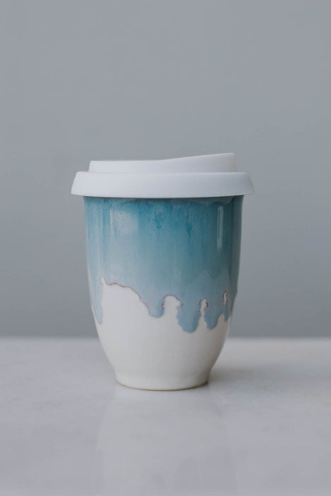 Travel Mug Pottery for the Planet  small