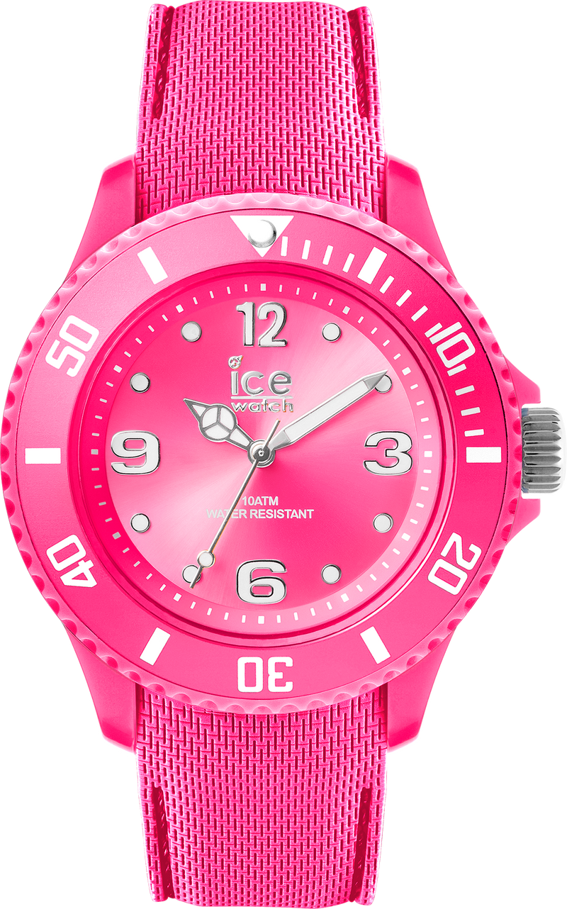ICE WATCH Sixty Nine Collection Neon Pink Case 34mm (S) Neon Pink Dial Neon Pink Strap