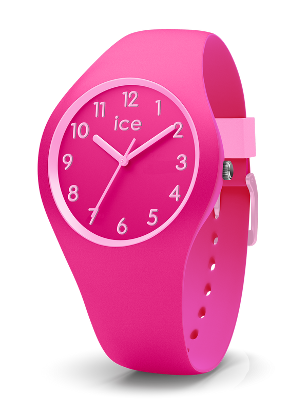 ICE WATCH Ola Kids Collection Pink Case 34mm (S) Pink Dial Pink Strap