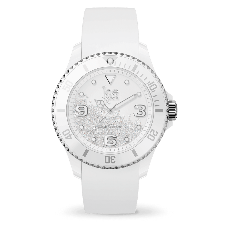ICE WATCH Crystal White Silver Smooth Medium 3H
