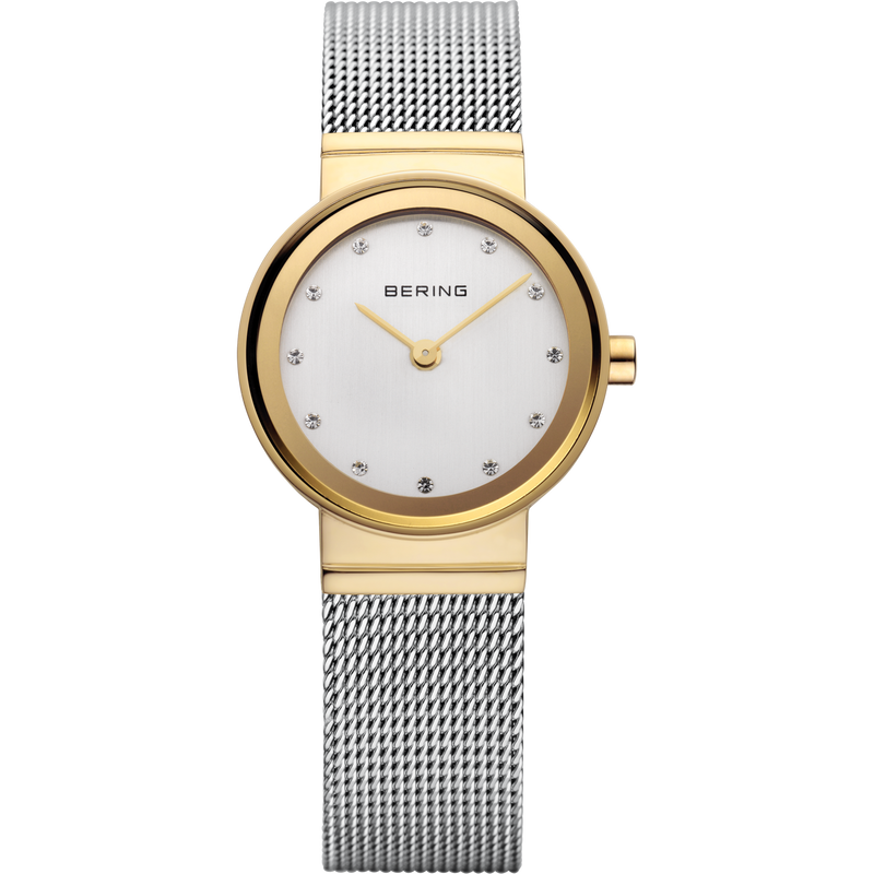 Bering Classic Polished Gold Watch