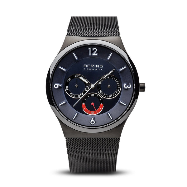 Bering Ceramic Brushed Black Watch