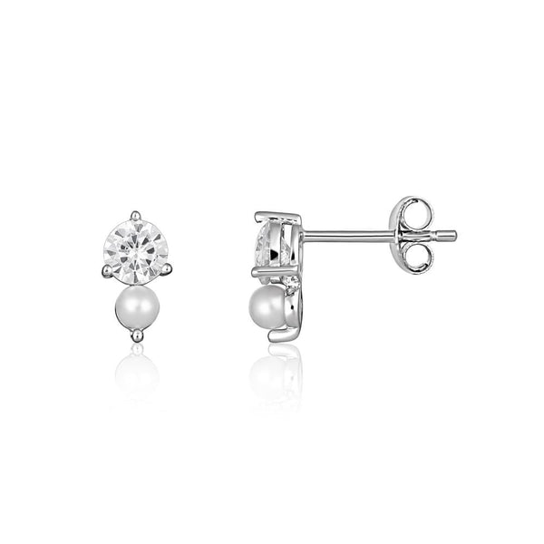 Georgini Heirloom Beloved Earrings Silver
