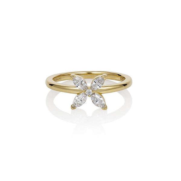 Georgini Heirloom Favoured Ring Gold