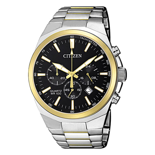 Citizen Men's Two Tone Chronograph Watch AN8174-58E