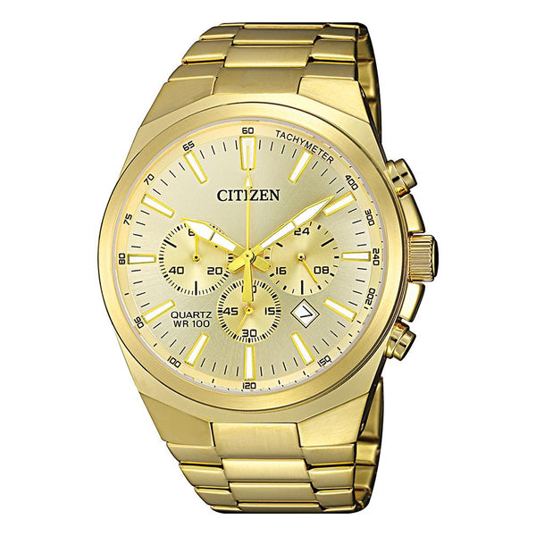 Citizen Men's Gold Chronograph Watch AN8172-53P