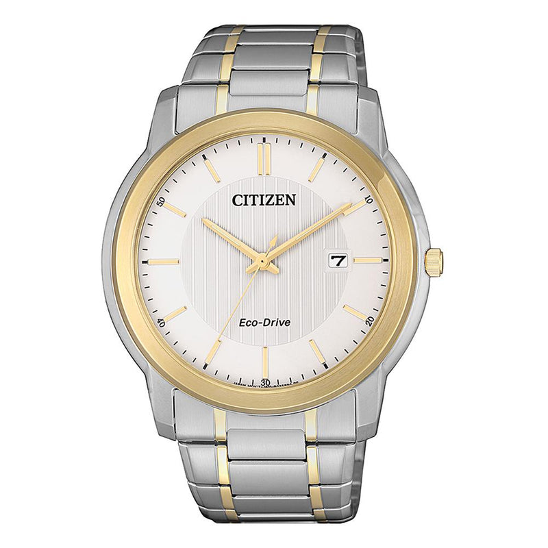 Citizen Men's Eco-Drive Two Tone Dress Watch AW1216-86A