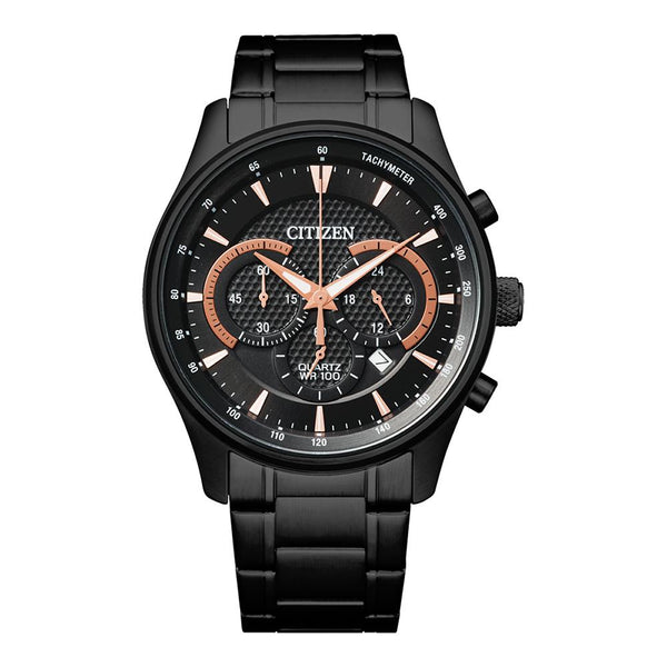 Citizen Men's Black Chronograph Watch AN8195-58E