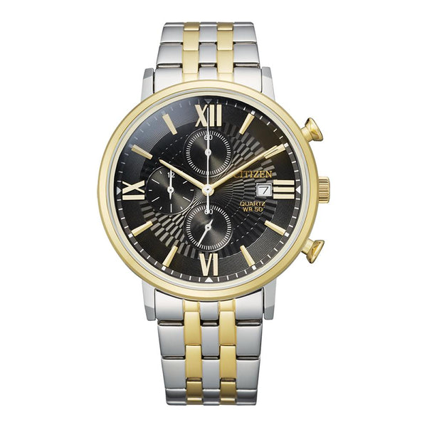 Citizen Men's Two Tone Chronograph Watch AN3616-75E