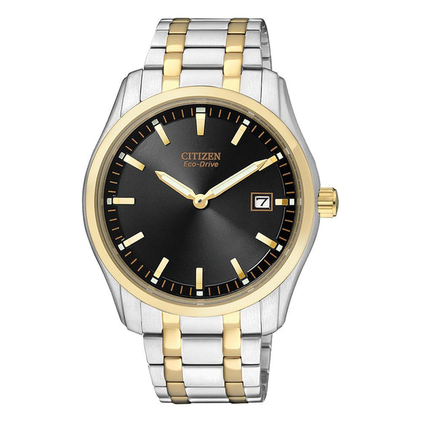 Citizen Men's Eco-Drive Two Tone Dress Watch AU1044-58E