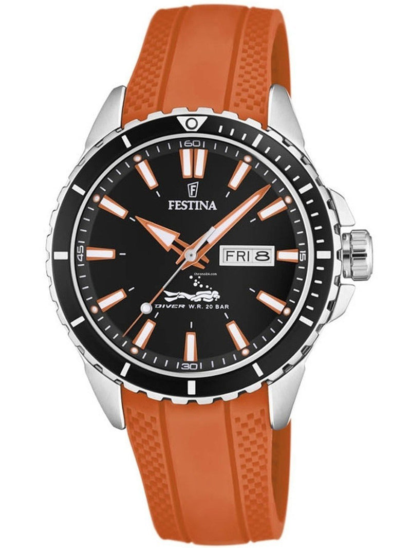 Festina Diver Orange Watch