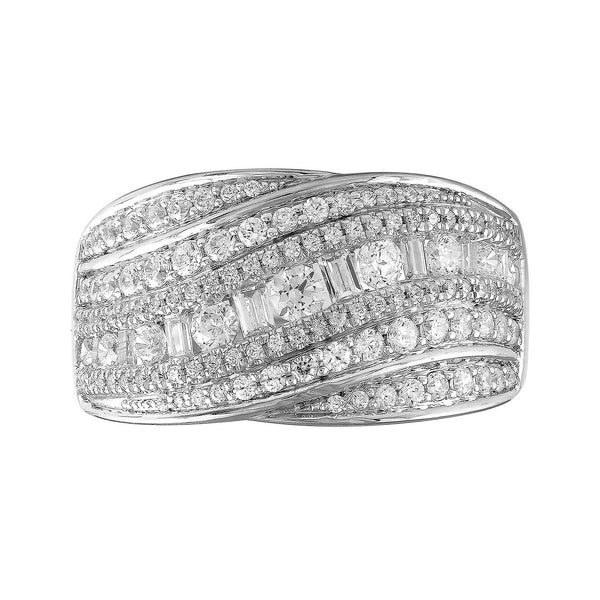 Ring with 2ct Diamonds in 18K White Gold