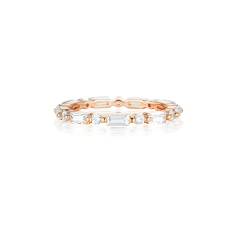 Georgini - Irina Rose Gold Cubic Zirconia Ring